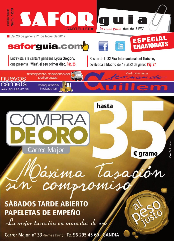 Del 26 De Gener A L 1 De Febrer De 2012 By Saforguia  # Muebles Casal Tauste