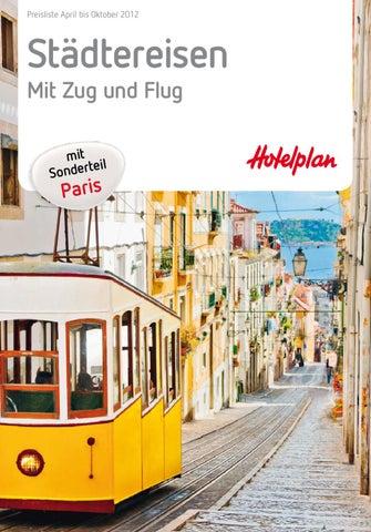 Hotelplan Städtereisen Mit Zug Und Flug Preisliste April Bis Oktober