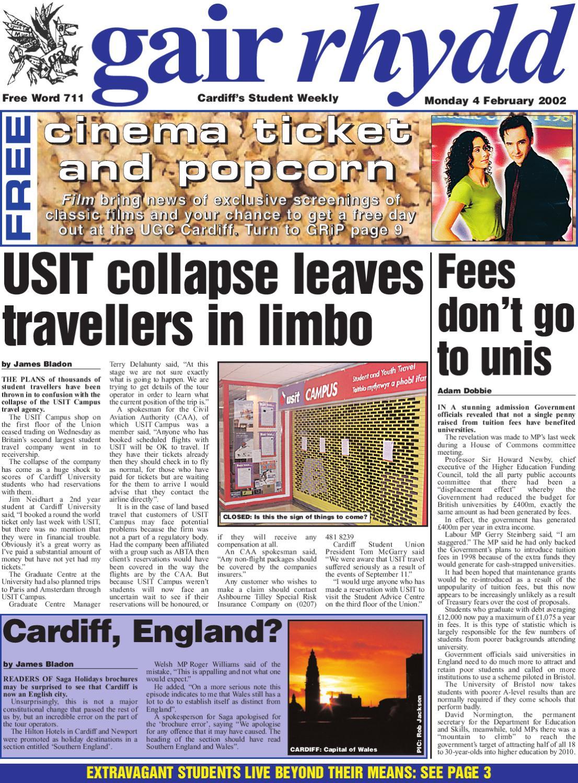 gair rhydd - Issue 711 by Cardiff Student Media - issuu