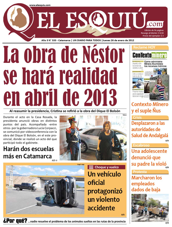 El Esquiu.com 26 de enero de 2012 by Editorial El Esquiú - issuu