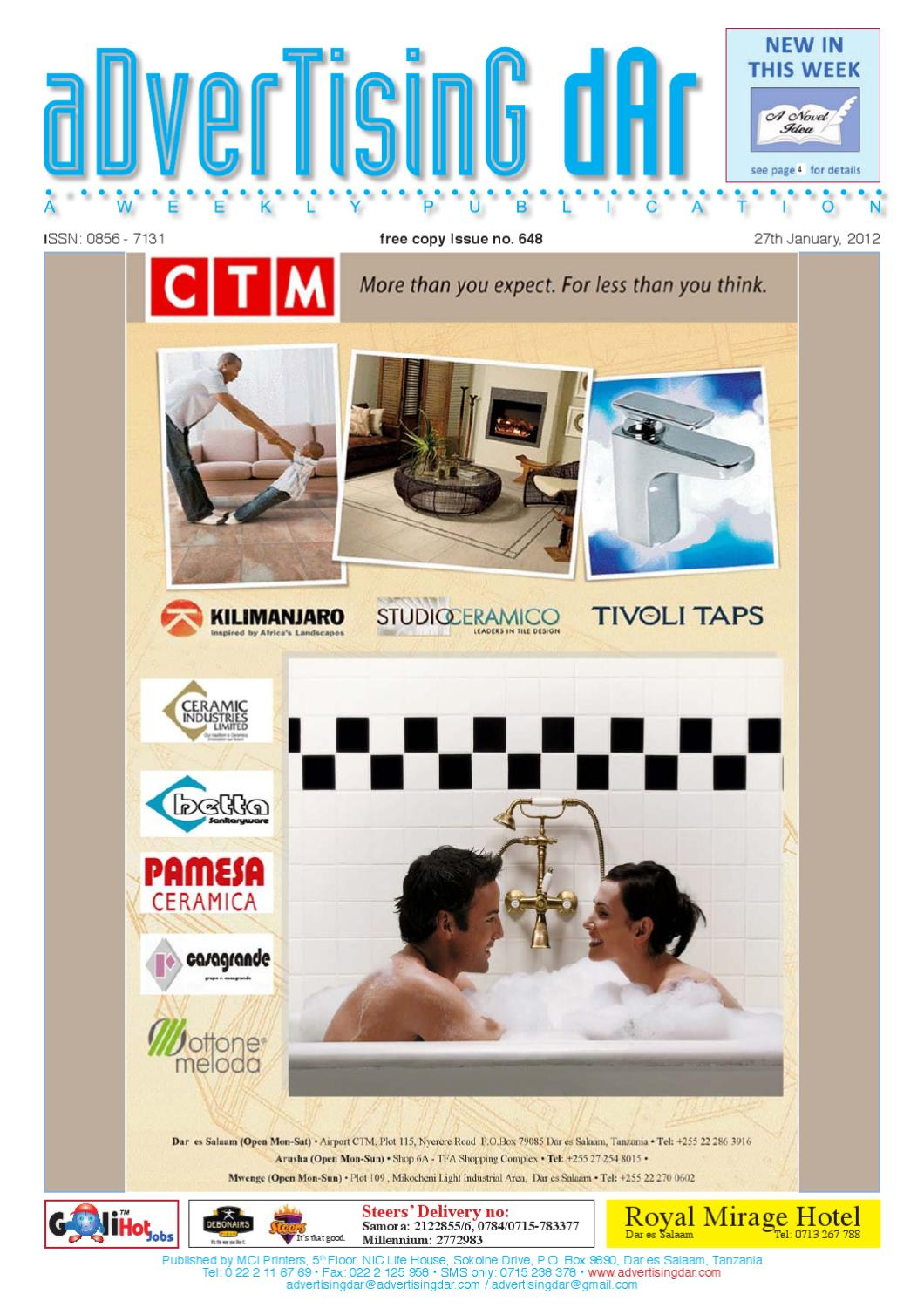 Advertising Dar Issue Nº 648 - 27th January, 2012 by
