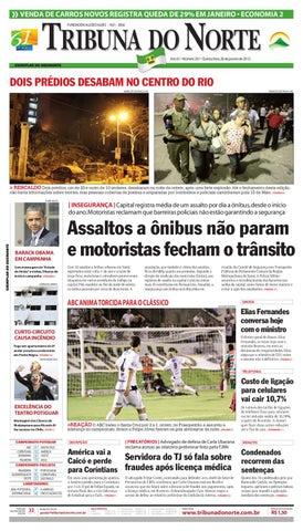 fcdb163a65fec Tribuna do Norte - 26 01 2012 by Empresa Jornalística Tribuna do ...
