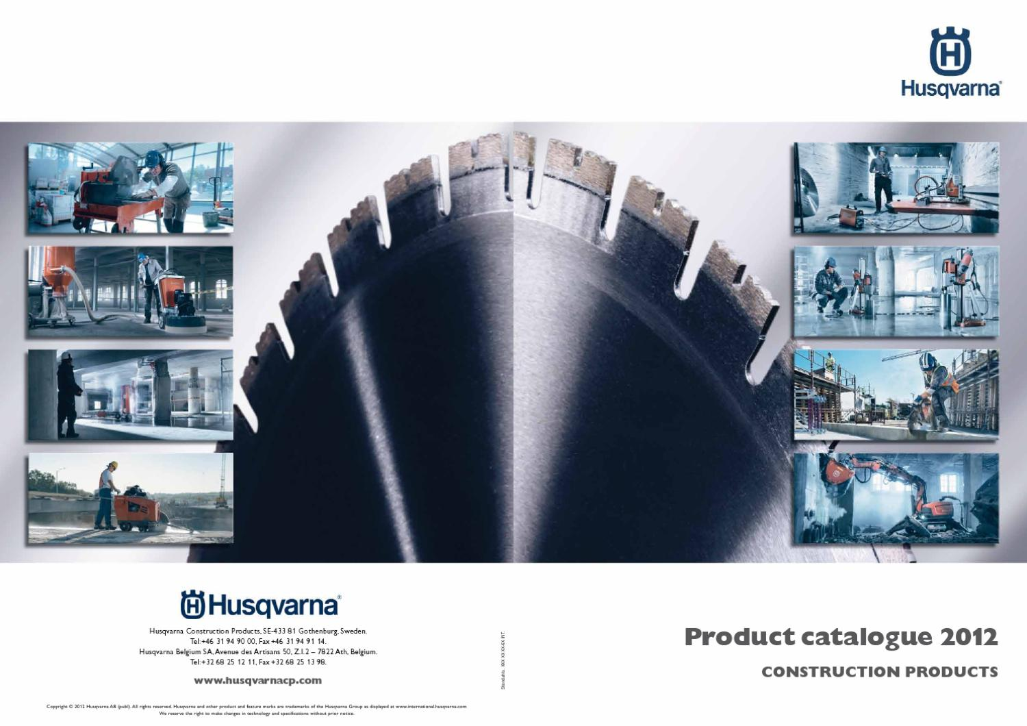 HCP_Cat_2012_INT_low by Husqvarna Construction Products - issuu