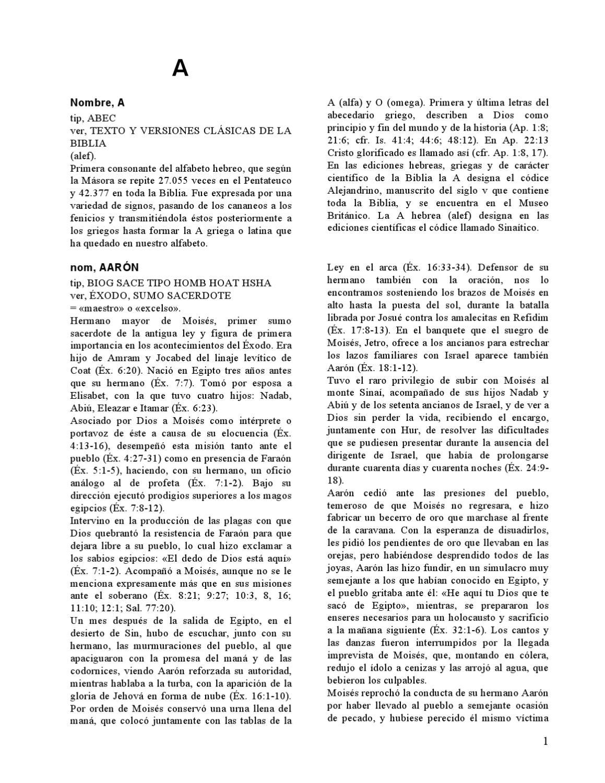 DICIONARIO BIBLICO A - K by Carlos Castilla - issuu