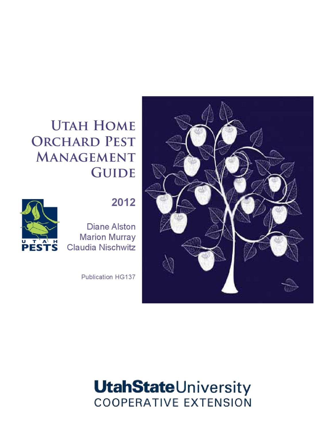 Home Orchard Pest Management by Utah State University Extension - issuu