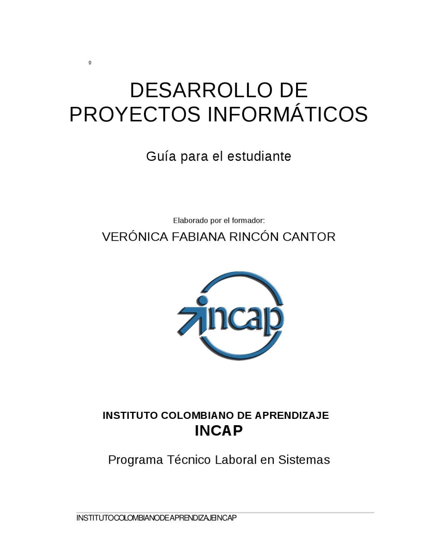 Desarrollo Unidad 1 by veronica Rincon - issuu