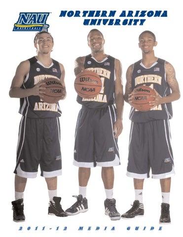 4105d84c8ca 2011-12 NAU Men's Basketball Media Guide by NAU Athletics - issuu