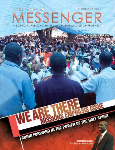 White Wing Messenger February 2012 by White Wing Messenger