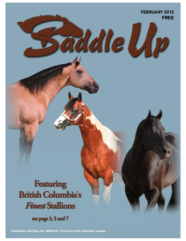 Saddle Up Feb-2012 by Saddle Up magazine - issuu 7ba8786071