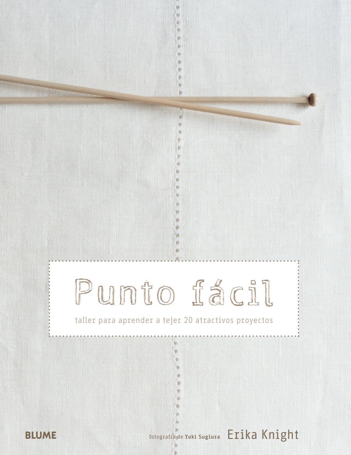 Punto facil by Editorial Blume - issuu