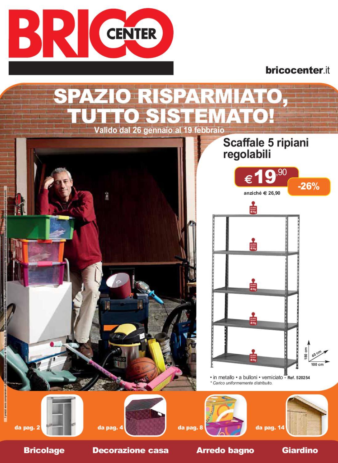 Bricocenter by gaetano nicotra issuu for Leroy merlin scarpiere