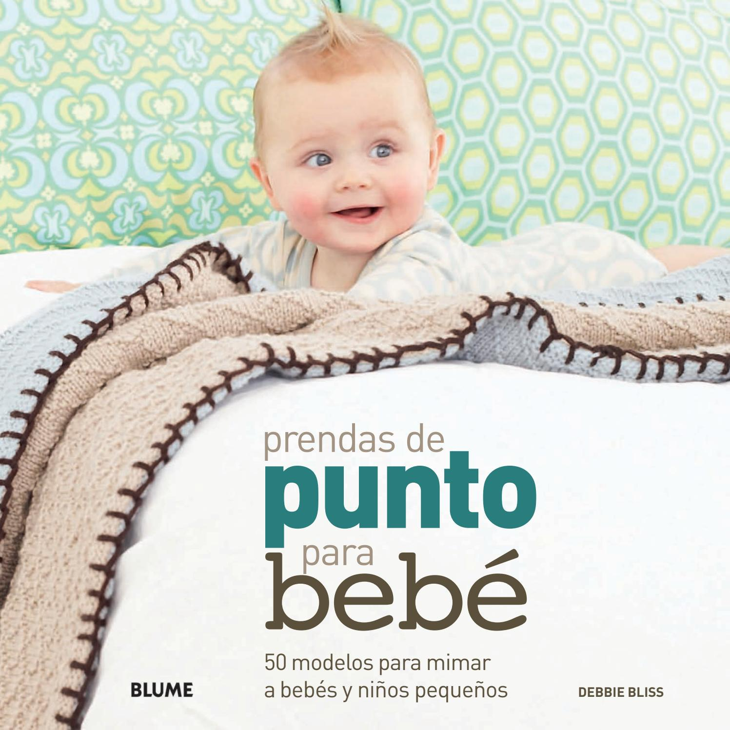 Prendas de punto para bebes by Editorial Blume - issuu