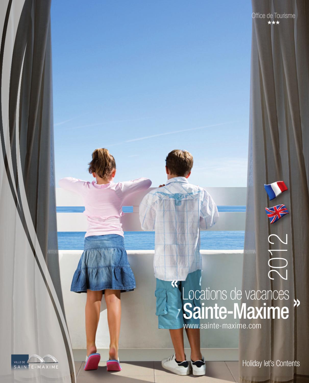 Guide des h bergements sainte maxime partie 2 by office de tourisme de sainte maxime issuu - Office tourisme sainte maxime ...
