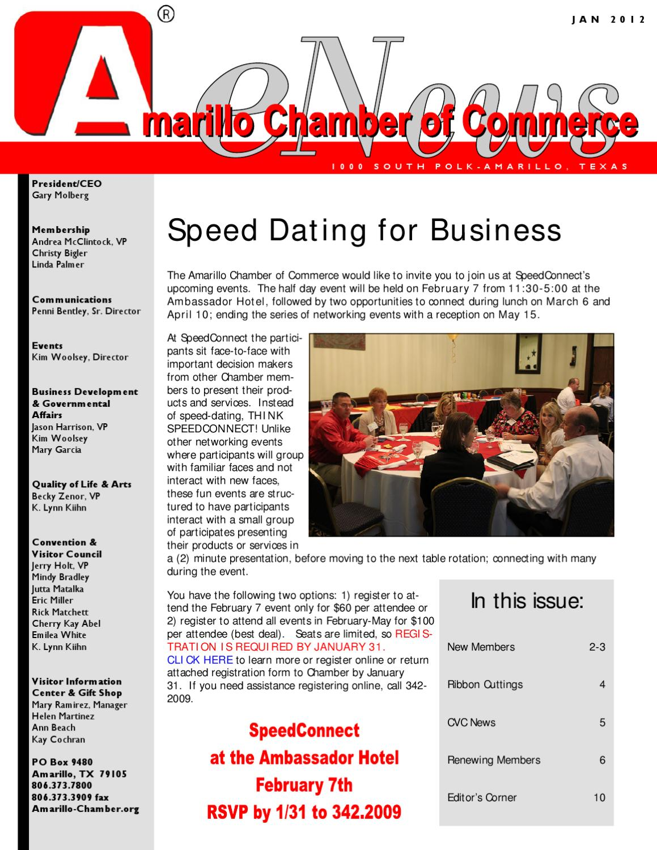 Speed dating amarillo texas