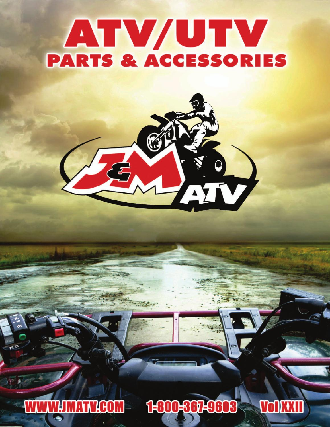 ATV Parts & Accessories - Vol XXII by J&M ATV Supply - issuu