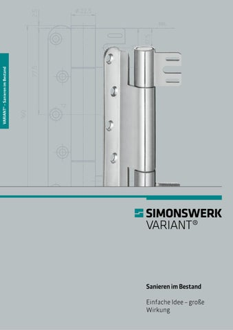 Stahlzarge Oder Holzzarge simonswerk variant by simonswerk gmbh issuu
