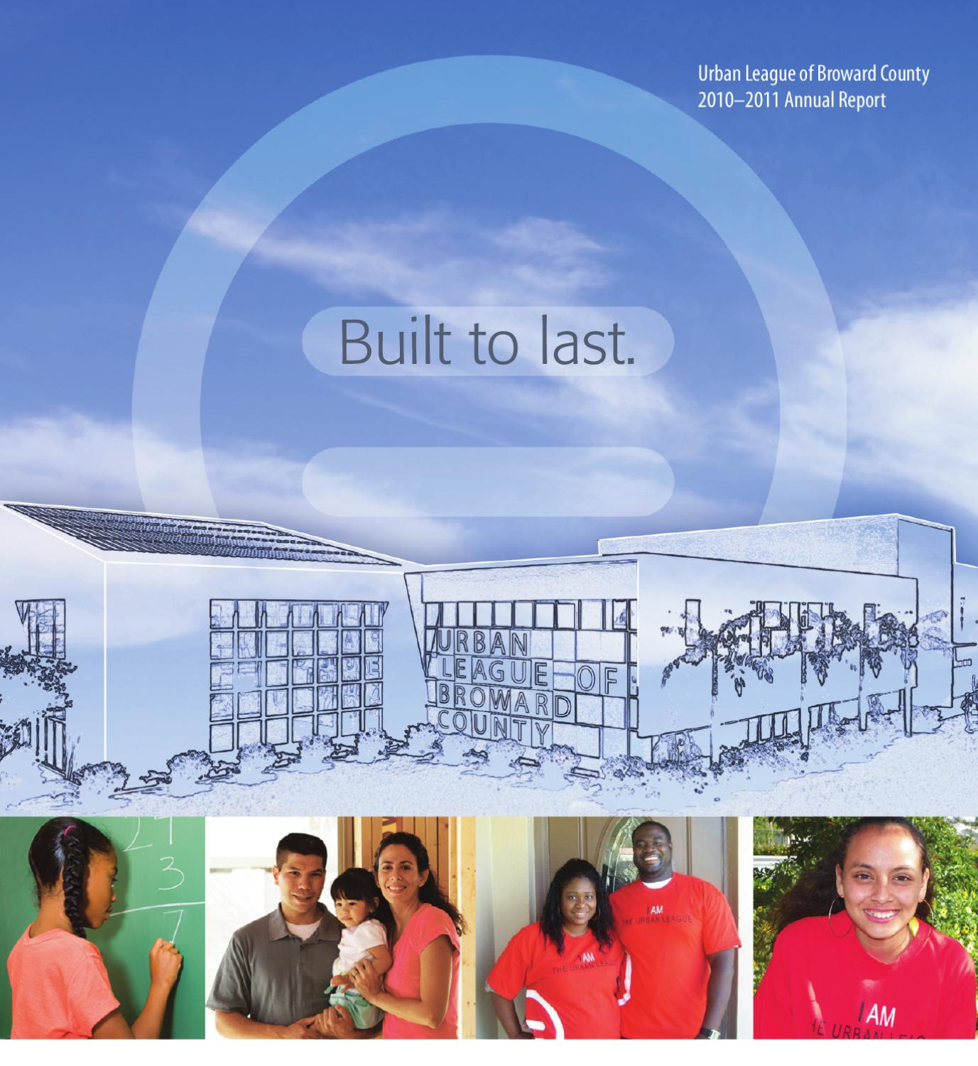 urban league of broward county - 2010-11 annual report by alica