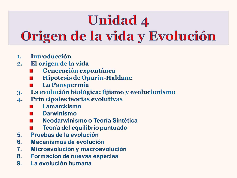 Origen de la vida y evolucion by Luisa García - issuu