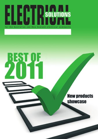 Electrical Solutions Best of 2011 by Westwick-Farrow Media ... on