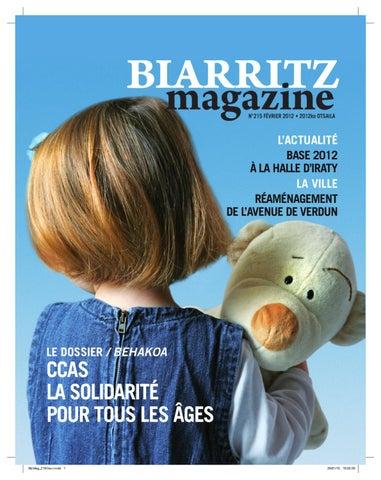 b990f98748573 BTZ MAG 215 by Ville de Biarritz - issuu