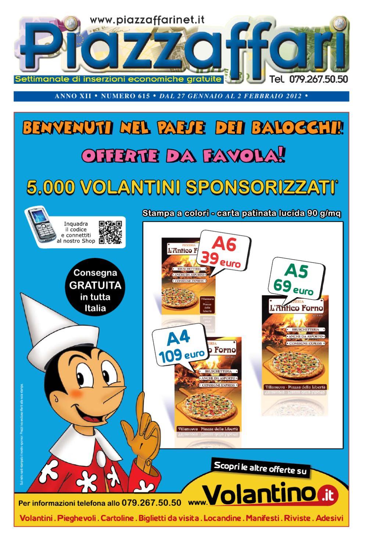 Piazzaffari n° 615 del 27 gennaio 2012 by Marco Cau - issuu 0fc8dfc0d408