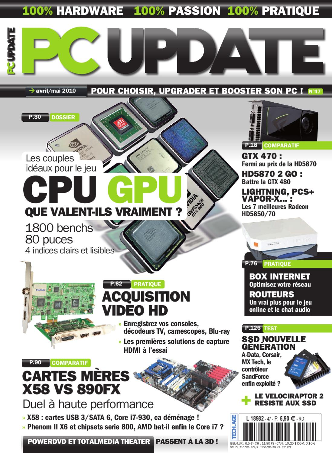 7d97c2368c3091 PC Update 47 by PC Update   Hardware Mag - issuu