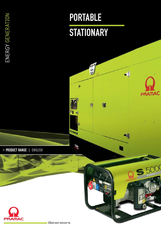 PRAMAC generators catalogue 40 EN by TOTALENER, Lda.   issuu