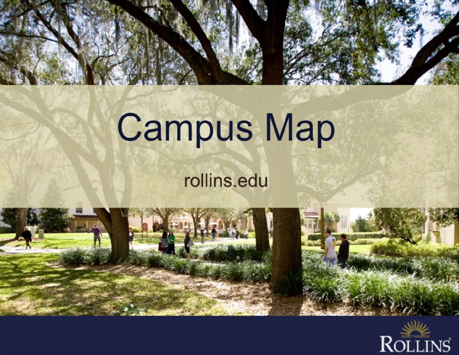 Rollins College Map By Rollins College Issuu