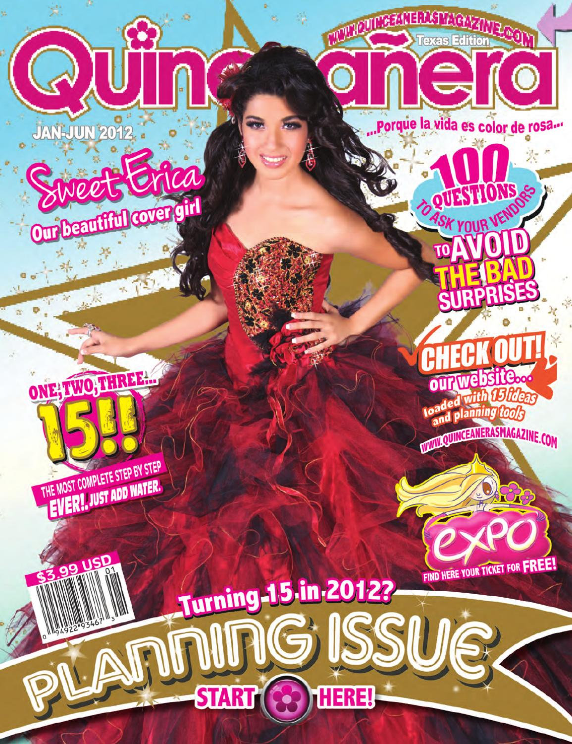 3e81e26d807 Texas Quinceaneras Magazine 2012-1 by Texas Quinceaneras Magazine ...