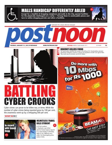 Postnoon E-Paper for 31 January 2012 by Scribble Media