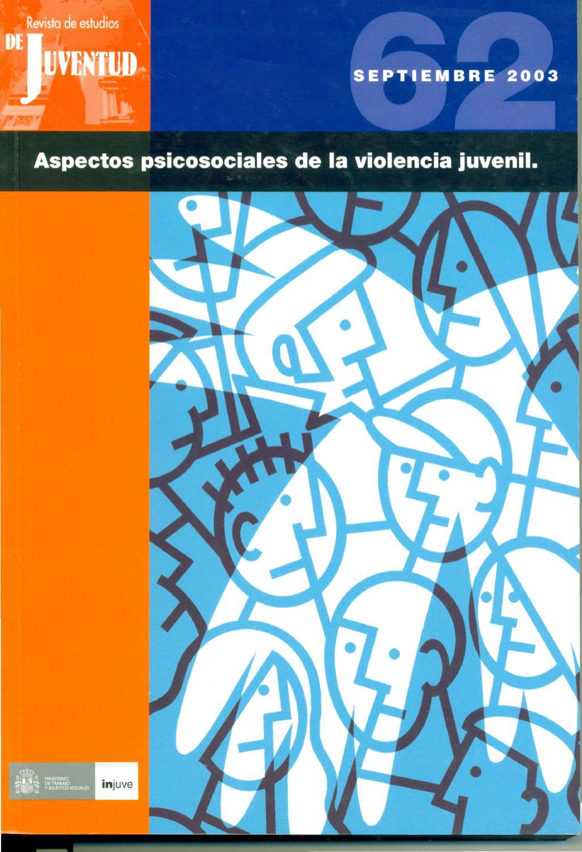 Revista de Estudios de Juventud. Nº 62. Aspectos psicosociales de la ...