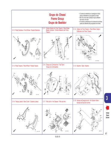 Manual despiece Honda 400 NX4 Falcon 2007 al 2010 by Fernando ... 13757f6e2a