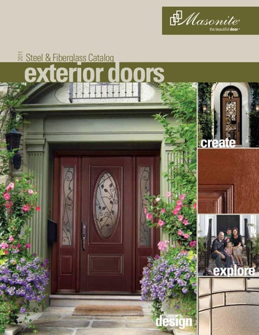 2011. Steel U0026 Fiberglass Catalog. Exterior Doors Create