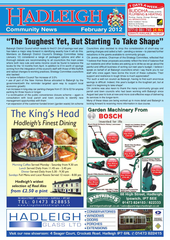 Hadleigh Community News, February 2012 by Keith Avis