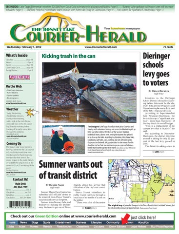 Bonney Lake and Sumner Courier-Herald, February 01, 2012 by