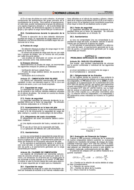 reglamento nacional de edificaciones 4a by Web Master - issuu