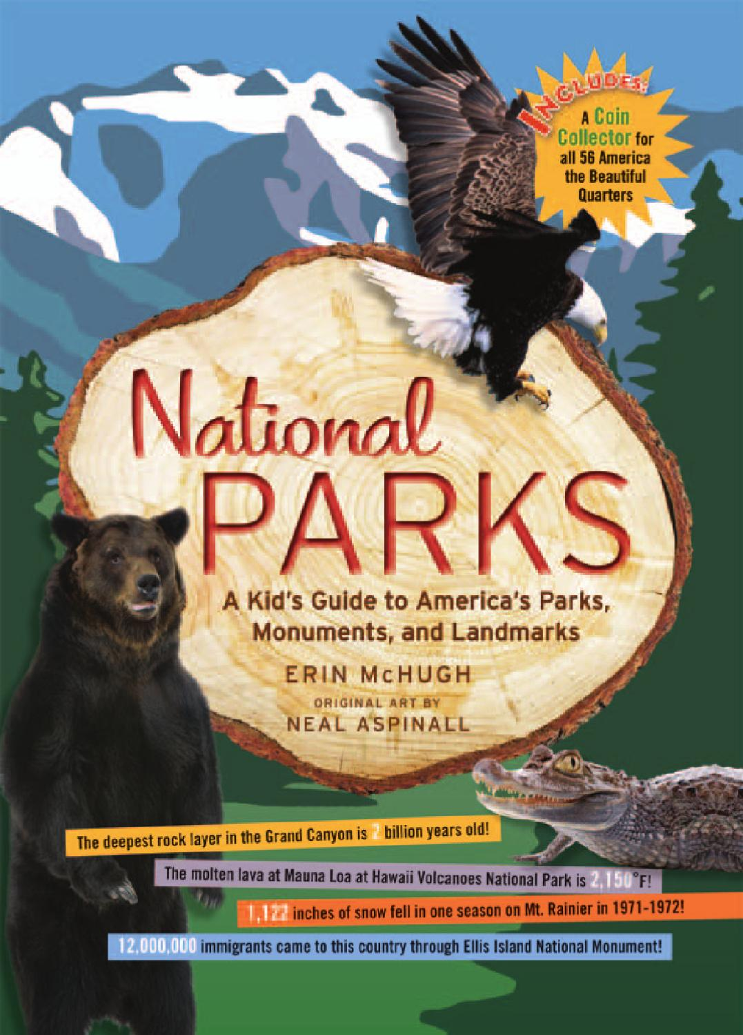 National Parks  Black Dog  Leventhal Publishers - Us national park quarters book