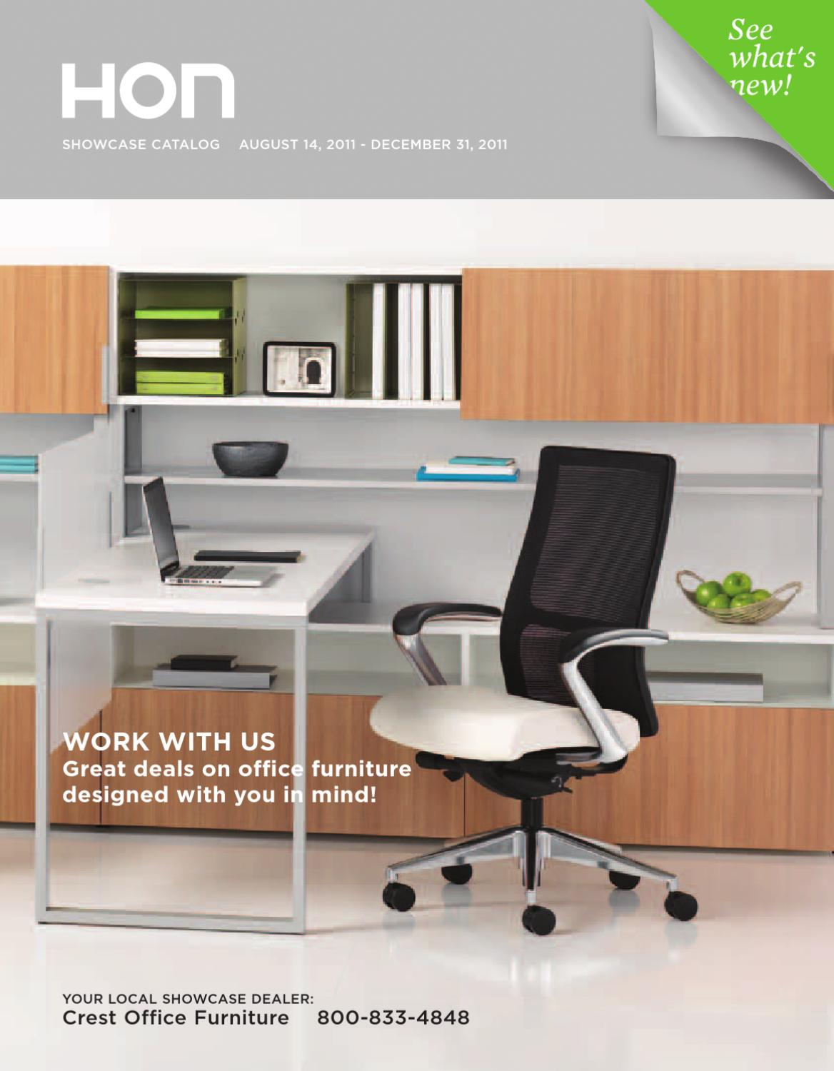 HON OFFICE FURNITURE CATALOG 2012 By David Wolf