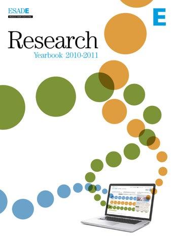 ESADE Research Yearbook 2010-2011 by ESADE - issuu