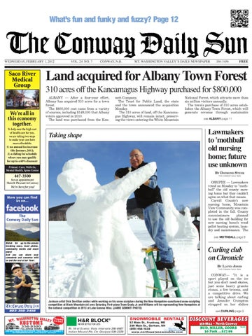 The Conway Daily Sun Wednesday March 28 2012 By Daily Sun Issuu