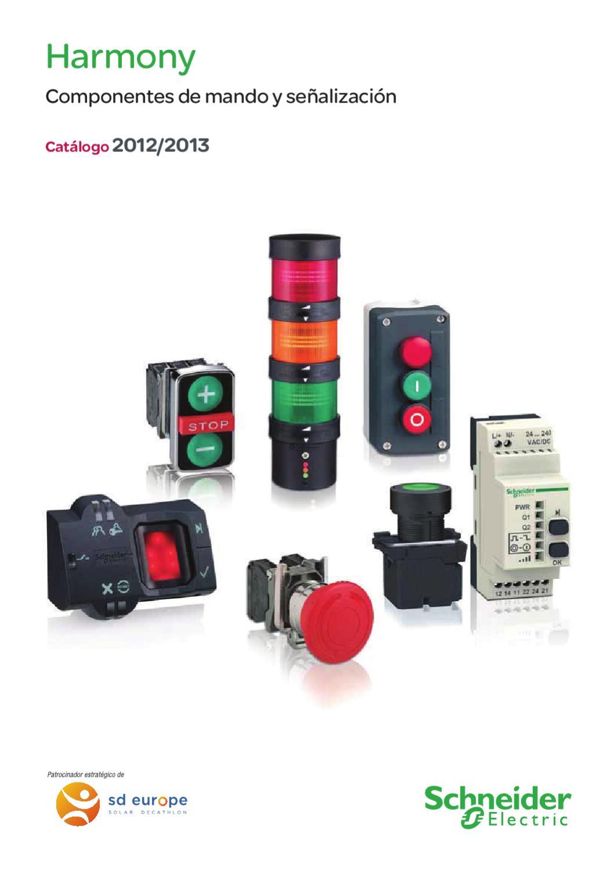 Mando Schneider Electric Harmony Catálogo y señalización wP8knX0O