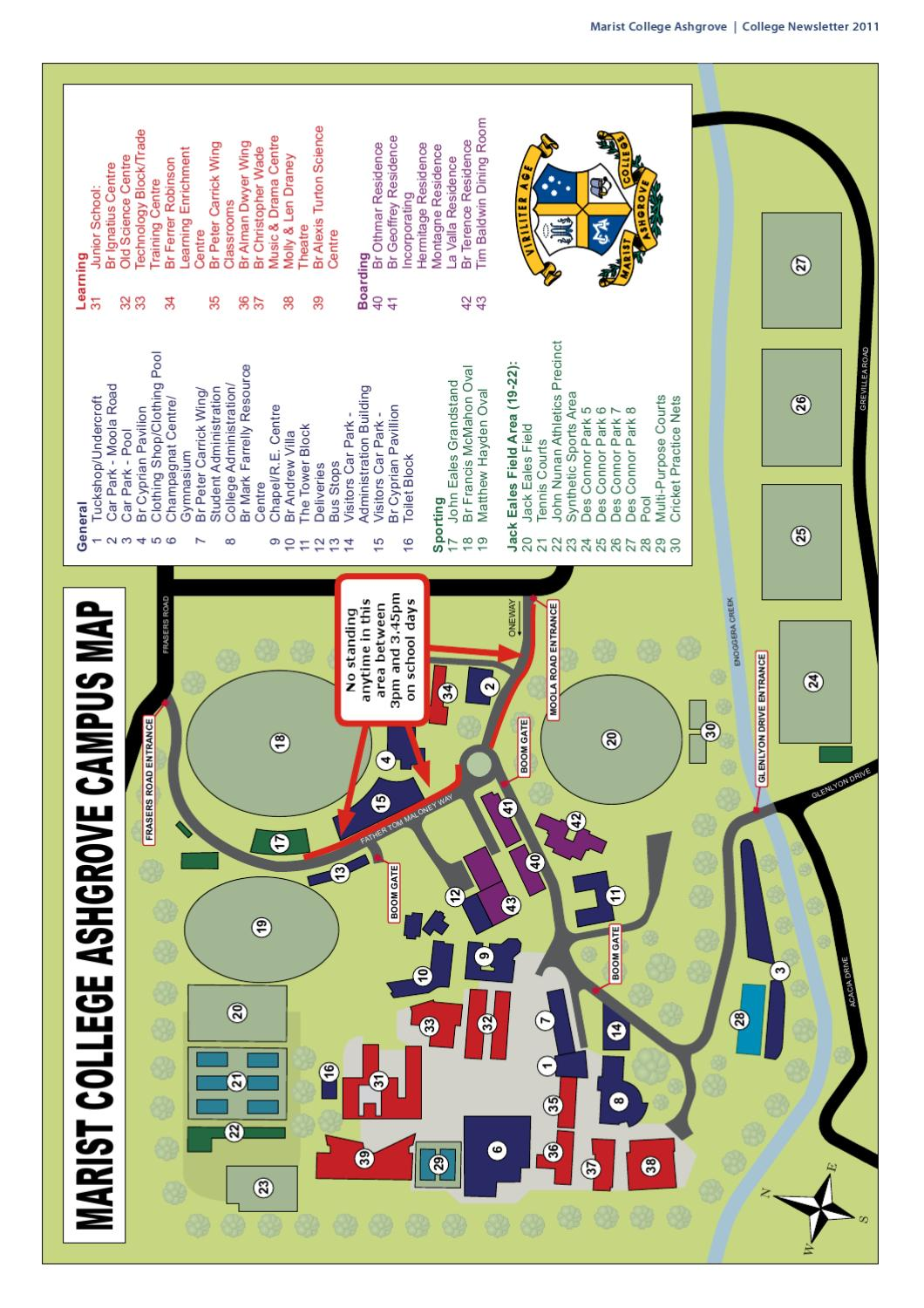 marist college campus map Marist College Ashgrove Newsletter By Marist College Ashgrove Issuu marist college campus map