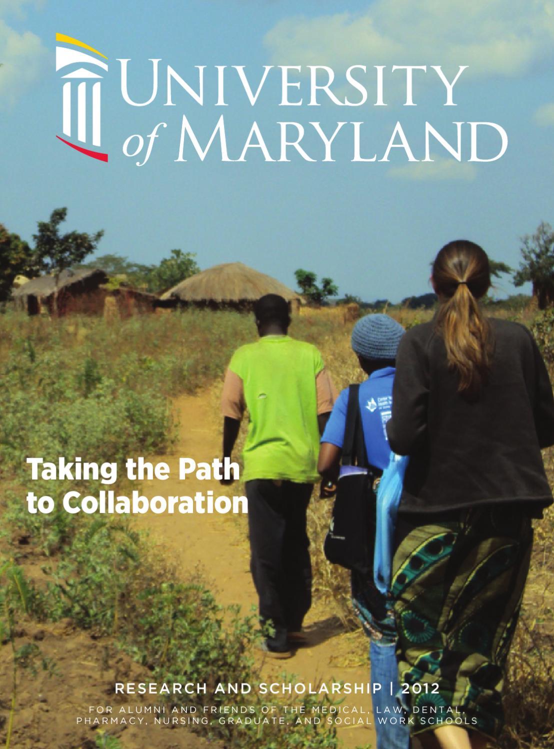 maryland magazine 2012 by university of maryland  baltimore