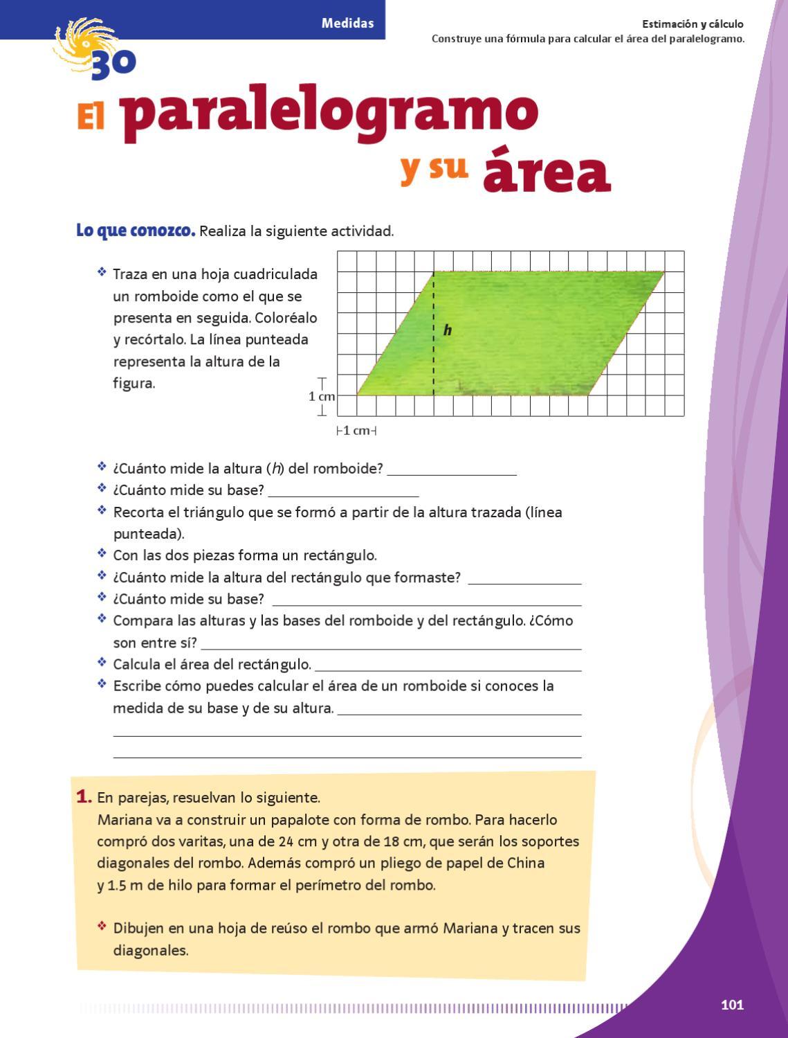 Matemáticas 5to. Grado. by Rarámuri - issuu