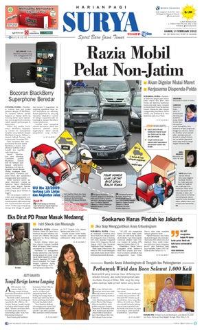 E-paper Surya Edisi 02 Februari 2012