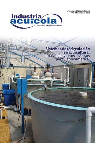 Industria acu cola vol 8 2 by aqua negocios sa de cv issuu for Criadero de camaron en estanques circulares
