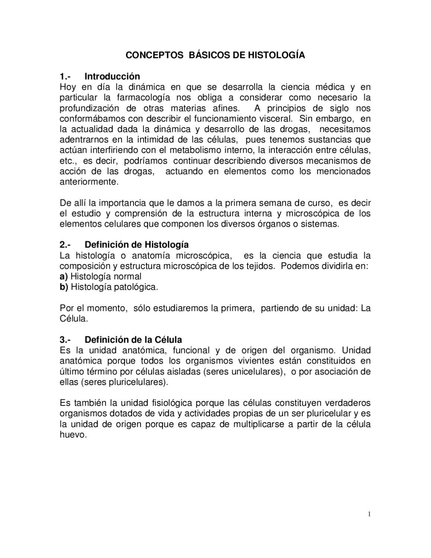 Concepto de Histologia by Nolver Nolver - issuu