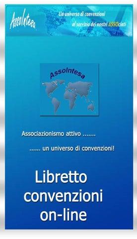 Libretto convenzioni Assointesa by sandro chirivi - issuu 267e576aa7e