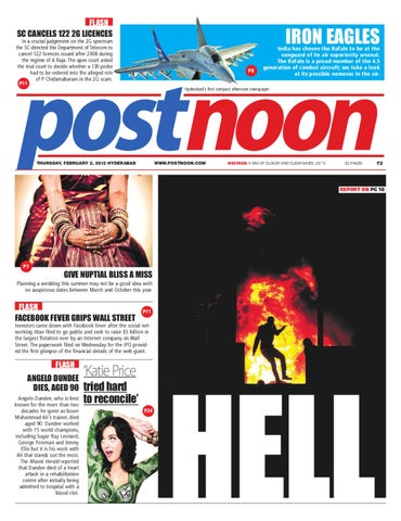 Postnoon E-Paper for 02 February 2012 by Scribble Media