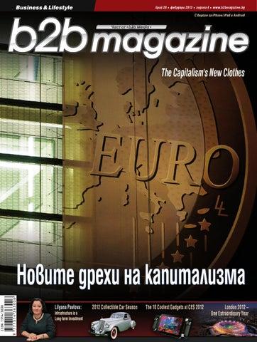 8f33c8fcf06 b2b magazine issue 28 by Bobby Naydenov - issuu